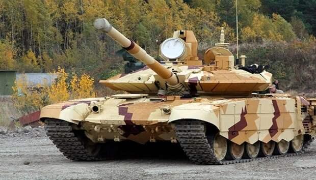 """Россия объединила танки Т-90М """"Прорыв"""" в единую сеть для учебной сетецентрической операции"""