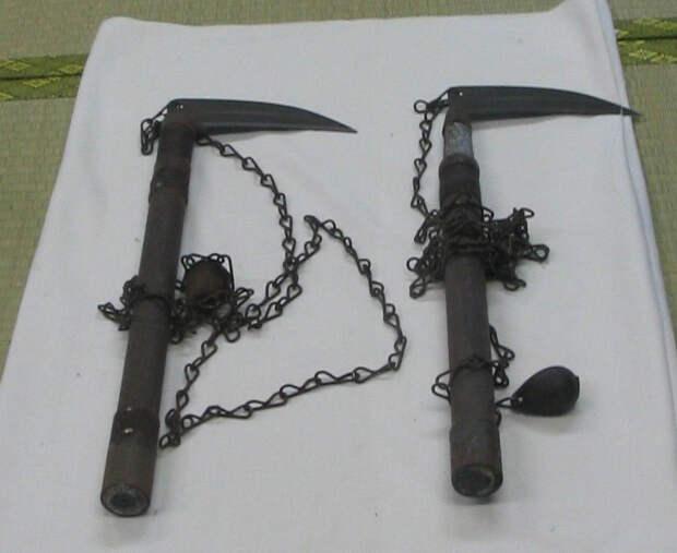 Японское оружие Кусуригама