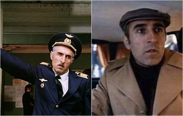 Актер наиболее известен по роли Гиви Ивановича Гоглидзе, командира лётного отряда аэропорта Телави.