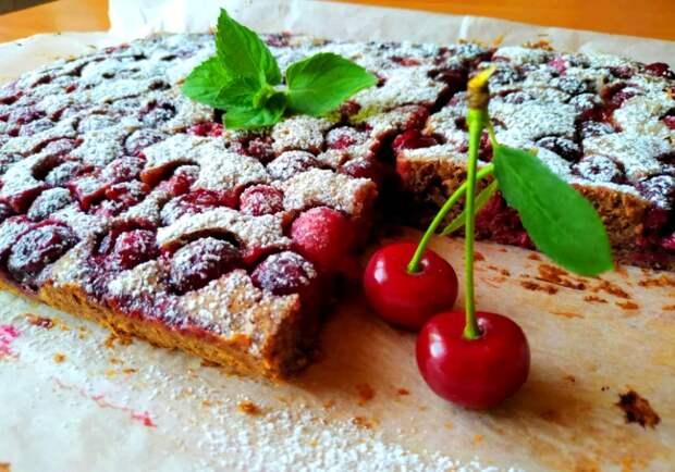 Советский рецепт вишнево-шоколадного десерта (из журнала «Работница»)