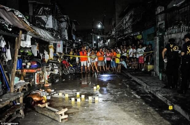 Президент Филиппин разрешил отстреливать всех наркоторговцев
