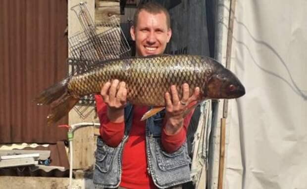 Чудище из озера Сартлан попалось на крючок жителю Новосибирска