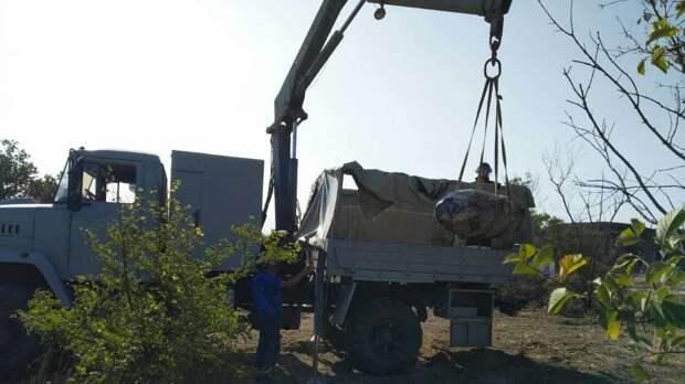 В Керчи уничтожили 17 авиационных бомб
