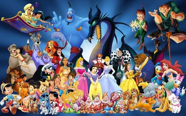 Помните ли вы песенки из диснеевских мультфильмов?