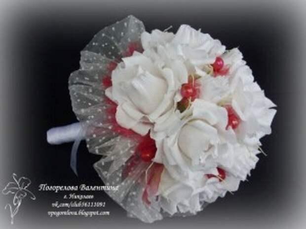 """Свадебный букет из конфет """"Ноктюрн"""""""