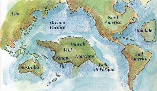 Континент Му - прародина человечества