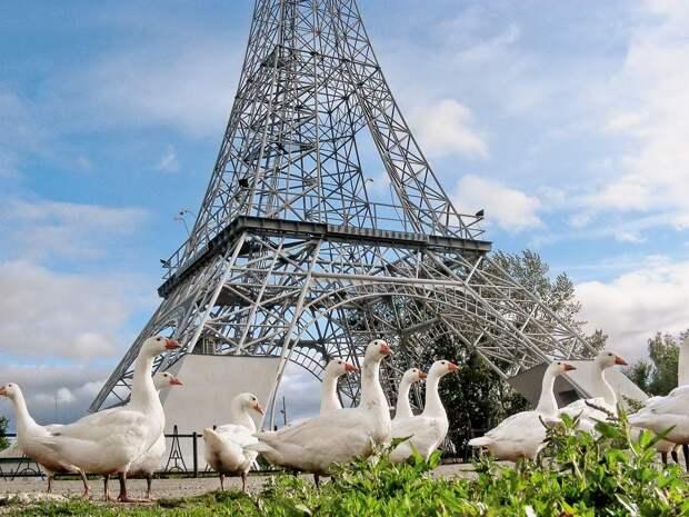 Как фанера над Парижем: 15 Эйфелевых башен с просторов России-матушки
