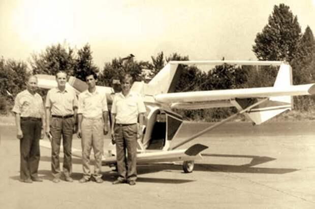 одноместный самолет, самолет беркут, самодельный самолет