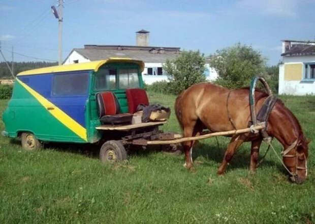Берегите глаза: Подборка фото «колхозного» автотюнинга