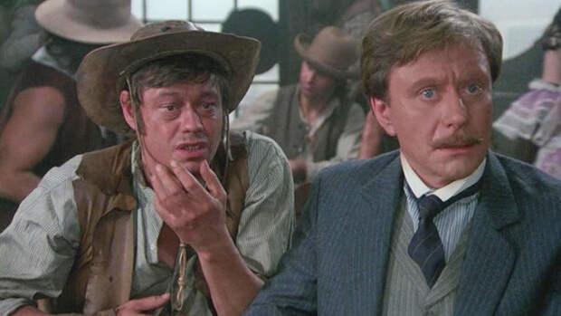 Николай Караченцов и Андрей Миронов в фильме «Человек с бульвара Капуцинов» (1987)