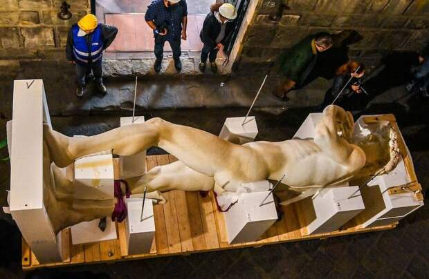 Фото дня: 3D-печатная копия Давида, статуи работы Микеланджело