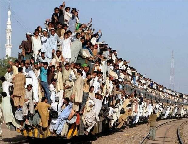 Если что, то это типичная поездка на поезде