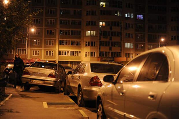 Россияне не склонны платить деньги за ночную парковку