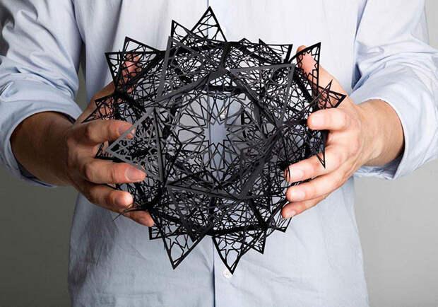 Ажурные бумажные скульптуры Кристины Ким