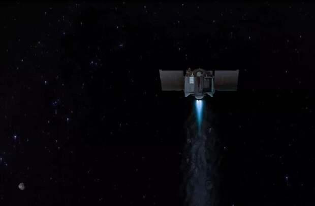 Космический корабль НАСА с образцом исторического астероида направится к Земле