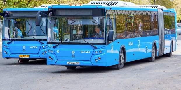 Маршрут автобуса 605, проходящий через Лосинку,  стал третьим по популярности у в городе