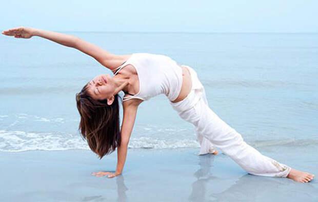Польза йоги для женщины