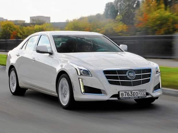 Тест Cadillac CTS: обделили!