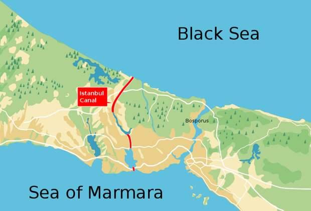 Растущая военная угроза со стороны России отбрасывает густую тень на проект турецкого канала
