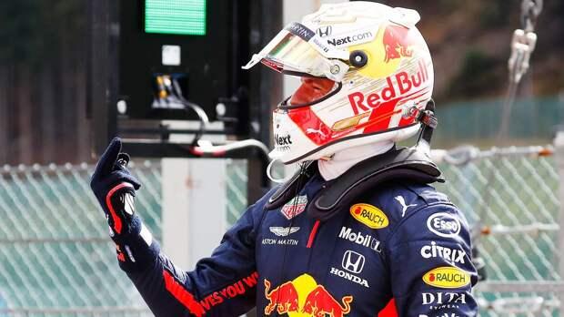 Ферстаппен стал первым в истории Формулы-1 голландцем во главе личного зачета пилотов