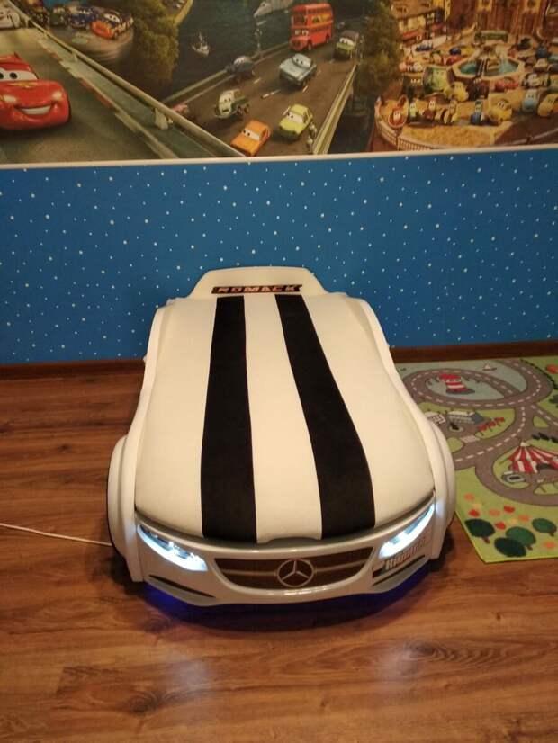 Почему стоит сделать выбор в пользу детской кровати машины