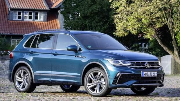 Volkswagen вернул полный привод Tiguan с 150 л.с в России