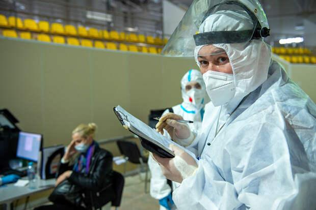 В России за сутки выявили почти 14 тысяч заражённых COVID-19