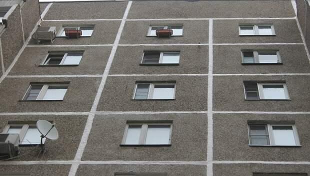 Стена жилого дома в Подольске треснула в ходе ремонта межпанельных швов