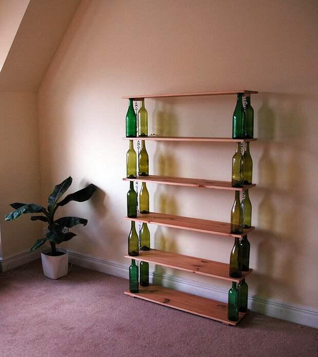 WineBottle02 22 способа превратить пустую бутылку в практичное произведение искусства
