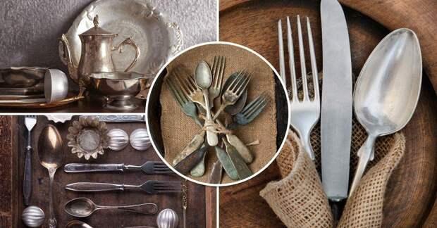 Дешевый способ вернуть блеск столовым приборам с помощью макарон