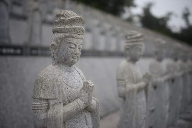 Статуи Бодхисаттвы Гуаньинь, Япония