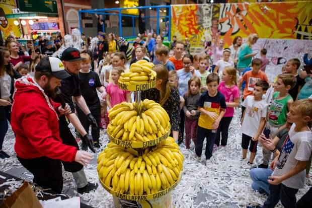 День рождения парка активного отдыха GorillaPark
