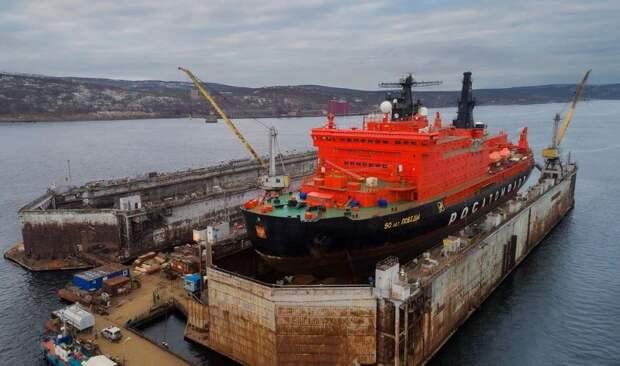 Турецкая верфь построит плавучий док для российских атомных ледоколов