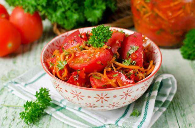 Салат из сырых овощей (сахалинский)