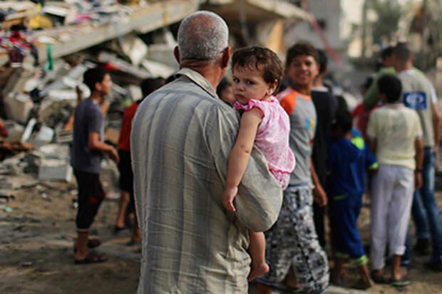 Палестина и Израиль договорились о перемирии
