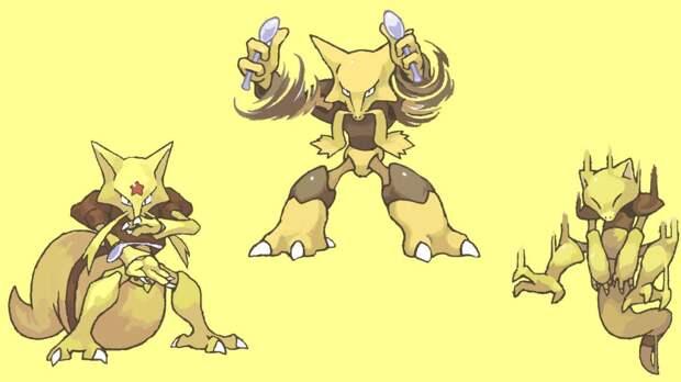 Абра и Кадабра (Pokemon)