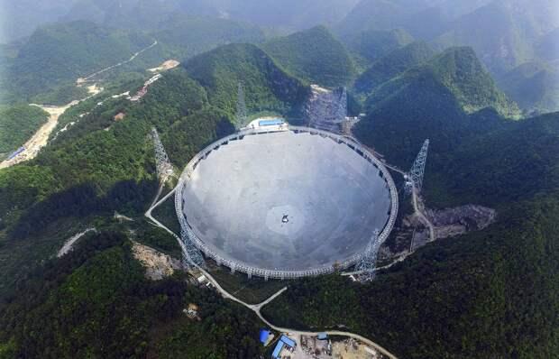 Китай откроет доступ к своему радиотелескопу FAST иностранным ученым