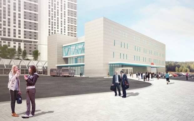 Перехватывающую парковку в Ховрине планируют открыть в начале 2022 года