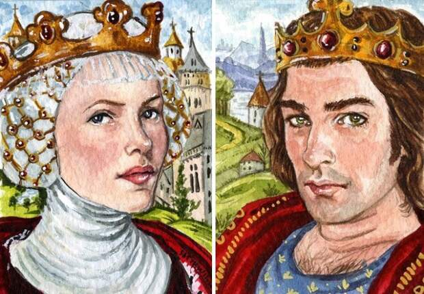 Как Изабелла Французская «съела» короля Англии Эдуарда II. \ Фото: vk.com.
