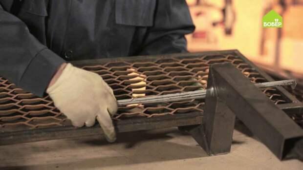 Металлическая лестница для крыльца своими руками