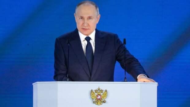 Британцев поразила речь Путина во время парада, в которой он неожиданно заменил одно слово