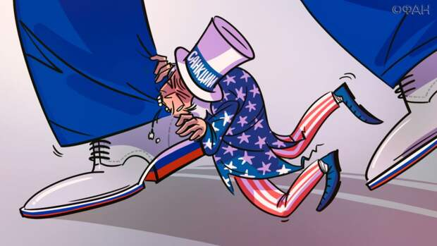 Захарова заявила, что новые санкции Вашингтона обостряют отношения США с РФ