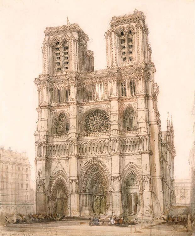 Его разворовывали и хотели снести: бессмертный шедевр архитектуры Нотр-Дам