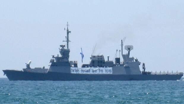 Бойцы боевого крыла движения ХАМАС открыли огонь по кораблю ВМС Израиля