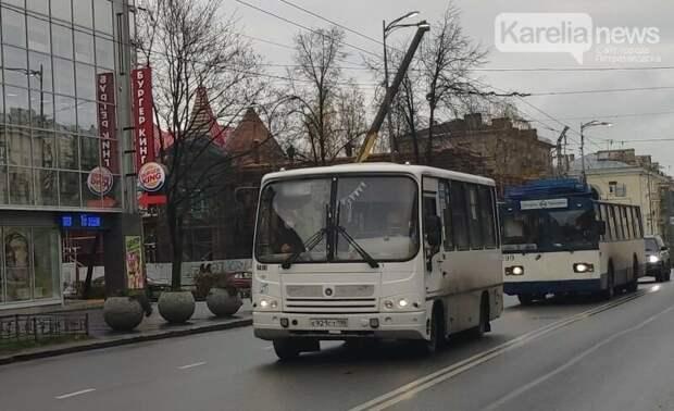 9 мая в Петрозаводске изменятся маршруты автобусов и троллейбусов
