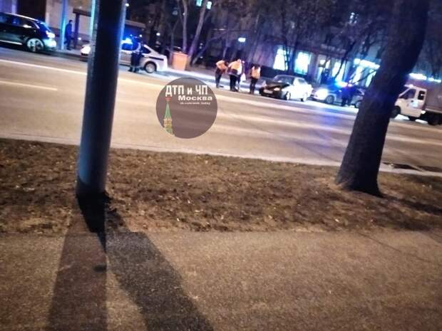 В ночной аварии на Маршала Бирюзова никто не пострадал