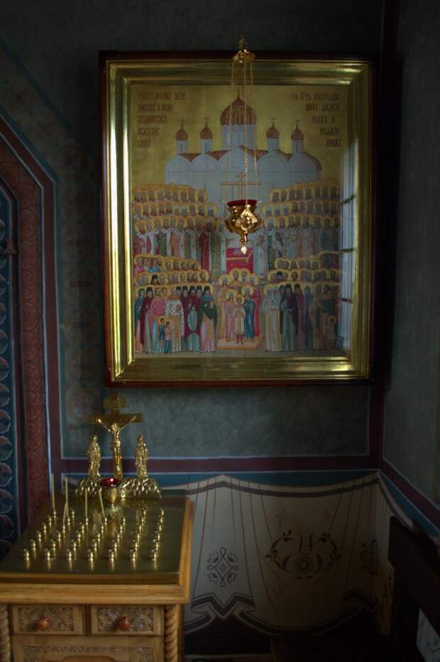 Царская дорога. Чудесная осень в Храме Успения Пресвятой Богородицы.