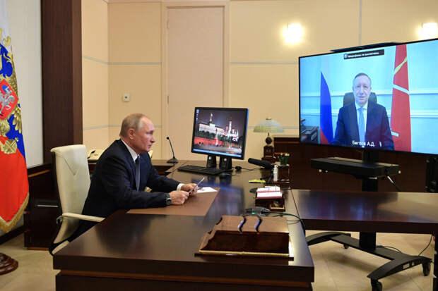 Путин заявил о важности ревакцинации от COVID-19