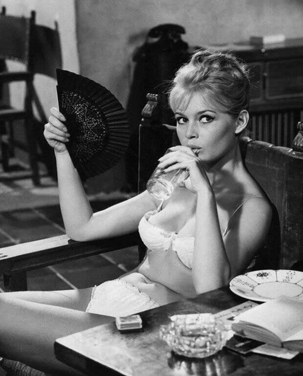 Брижит Бардо, 1958 год  история, люди, фото