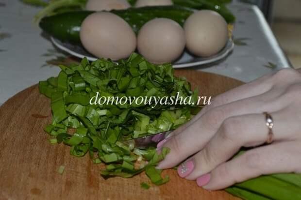 Салат из черемши: 15 вкусных и простых пошаговых рецептов